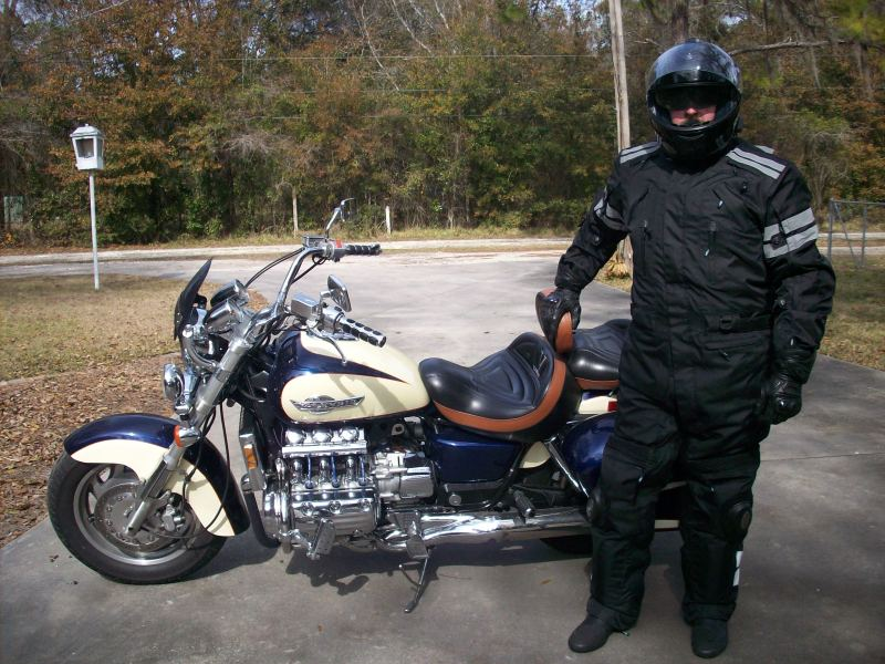 Our riding suits work equally well for cruiser enthusiasts