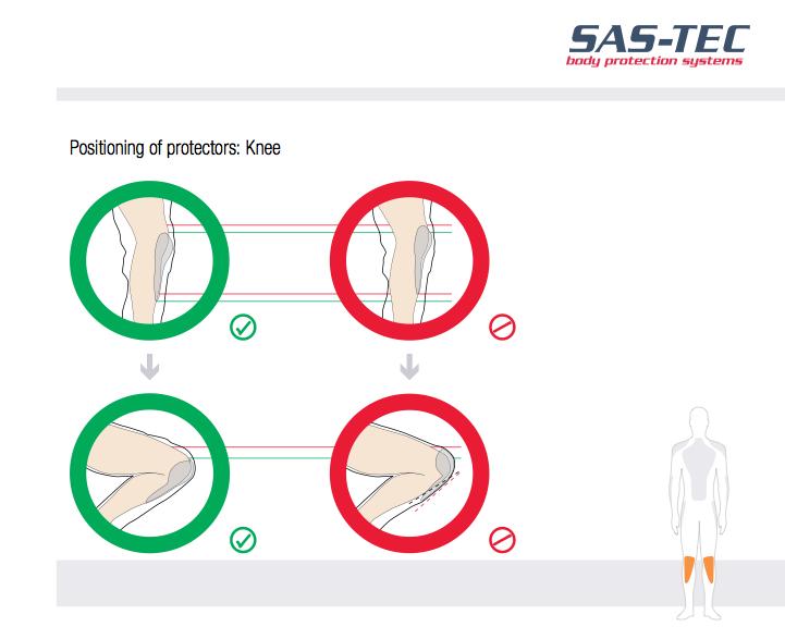 Sas-Tec knee protector
