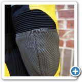 SuperFabric panels on elbow and reflective stripes