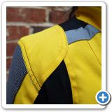 SuperFabric shoulder panels and Reflective strips